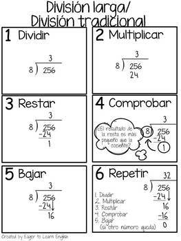 Third & Fourth Grade Math Reference Pack {in Spanish!}