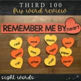 Third Fry Sight Words - Heart Word Wall