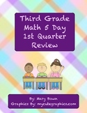 Third Grade (1st Quarter Skills) 5 Day Review