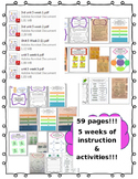 Third Grade (3rd Grade) Reading Wonders Interactive Notebook Unit 5 BUNDLE!