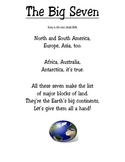 Third Grade 7 Continents Song ~ The Big Seven
