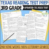 Third Grade A TEK-a-Day Reading Test Prep & Review, 2nd Ni