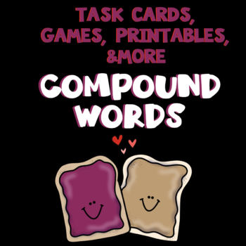 Third Grade Activities, Games, and Assessment for Compound Words