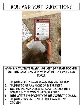 Third Grade Addition Properties, Addition Patterns, and Estimating