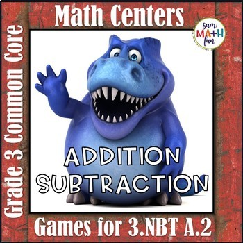 Third Grade Addition Subtraction Centers Common Core
