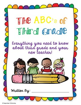 Third Grade Advice Book, End of the Year Writing