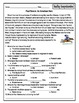 Third Grade American Heroes Packet: Reading Comprehensions, Study Guides & Tests
