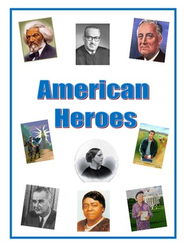 Third Grade American Heroes Packet Reading Comprehensions