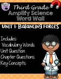 Third Grade: Amplify Science Focus Wall- Unit 1