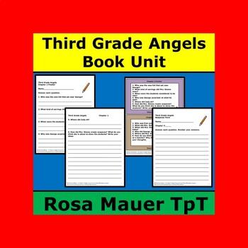 Third Grade Angels Book Unit