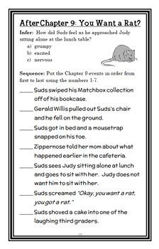 Third Grade Angels | Fourth Grade Rats (Jerry Spinelli) 2 Novel Studies Bundle
