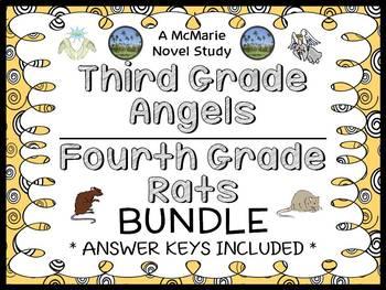 Third Grade Angels | Fourth Grade Rats BUNDLE (Jerry Spinelli) 2 Novel Studies