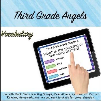 Google Classroom™ Third Grade Angels Novel Study CHAPTER 1