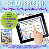 Google Classroom™ Third Grade Angels Novel Study CHAPTER 1