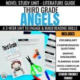 Third Grade Angels Foldable Novel Study Unit