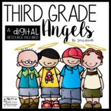 Third Grade Angels Novel Study and DIGITAL Resource