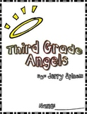 Third Grade Angels by Jerry Spinelli Reading Response Packet