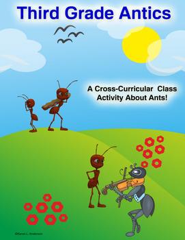 Third Grade Antics! Science Report, Organizer, and Wordplay Class Book