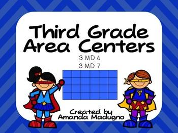 Third Grade Area Centers