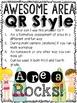 Area Practice with QR codes