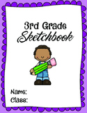 Third Grade Art Sketchbook