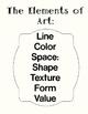 Third Grade Art Sketchbook