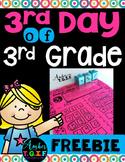 Third Grade BTS Freebie