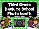 Third Grade Back to School Photo Booth 2020 with PROPS