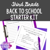 Third Grade Back to School