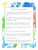 Back to School Welcome Bags Third Grade - Ink Spots
