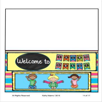 Third Grade Banner Back to School