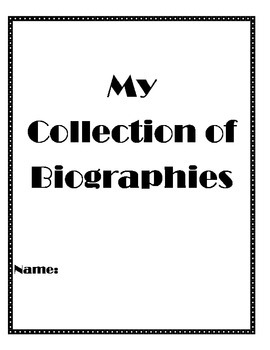 Third Grade Biography