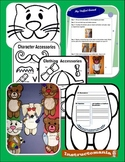 Third Grade Book Report Cut Out Animals with Personalized Templates