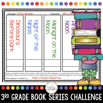 Reading Challenge for Third Grade