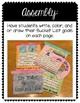 Growth Mindset: Third Grade Bucket List