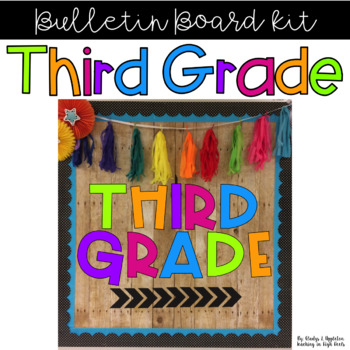 Third Grade Bulletin Board Kit