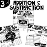 Third Grade Bundle Addition and Subtraction