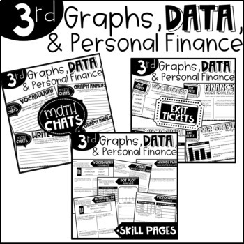 Third Grade Graphing And Data Worksheets Teaching Resources