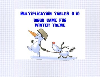Third Grade Bundle - Reading and Math Winter Fun