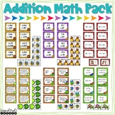 Addition Task Cards and Printables