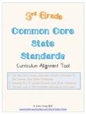 Third Grade CCSS Curriculum Alignment Guide
