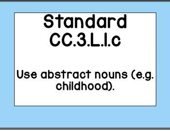 """Third Grade CCSS ELA """"I Can"""" Posters (Ocean themed)"""