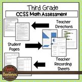 Test Prep Third Grade Math Review - Common Core Tasks for