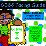 Third Grade CCSS Pacing Guide