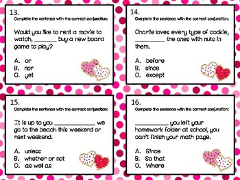 Third Grade Centers for February and March