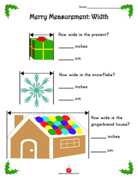 Third Grade Christmas Math Activities