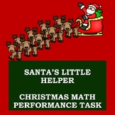 Christmas Math Performance Task