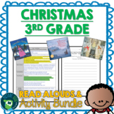 Third Grade Christmas Read Alouds and Activities Bundle