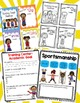 School Counseling - Classroom Guidance Lesson Bundle - Third Grade - Sports