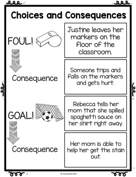 Classroom Guidance Lesson: Responsibility - Choices and Consequences